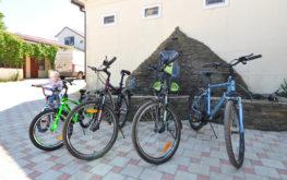 """В отеле """"Лиманыч"""" велосипеды доступны взрослым и детям"""
